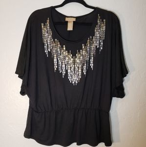 Miss Tina by Tina Knowles Blouse, size XL